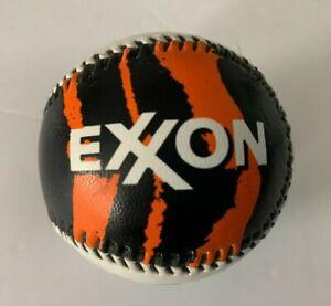 Vintage Promotional Exxon Gasoline Tony the TIGER STRIPES BASEBALL Collectible