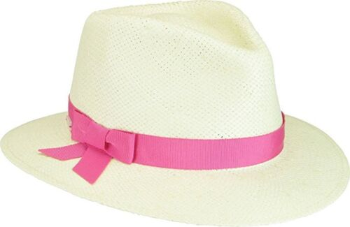 Betmar New York Laura II Straw Fedora 4 Colors-S//M or M//L-NWT
