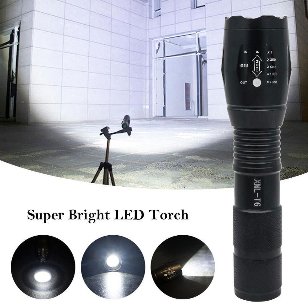 Trustfire 3800LM 3* CREE XM-L2 LED tactique 18650 1-Mode lampe torche Holster