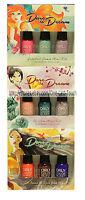 Orly 3pc Mini Nail Polish Dare To Dream Color Blast Disney Set/kit You Choose