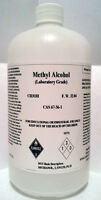 Methanol (methyl Alcohol) 4 X 1000ml Grade Acs+