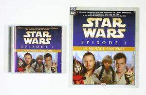 CD-Star-Wars-La-menace-fantome-Episode-1-L-039-histoire-racontee-CD-et-son-petit