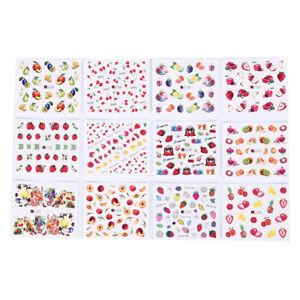 12-sheets-fruits-mixed-nail-art-sticker-diy-watermark-decals-nail-decoration-S