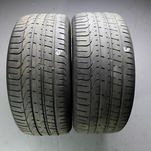 2x-Pirelli-P-Zero-AO-255-40-r20-101y-Dot-2818-pneus-d-039-ete-4-5-5-mm