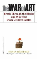 The War of Art : Break Through the Blocks and Win Your Inner Creative Battles by Steven Pressfield (2012, Paperback)