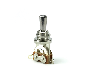 Chrome 3 Way Toggle Switch Pickup Selector for Electric Guitar Chrome Metal Tip