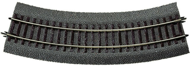 Roco 42522 - Track Curved R2 R = 358 MM 30° With Roadbed and Traverse IN L