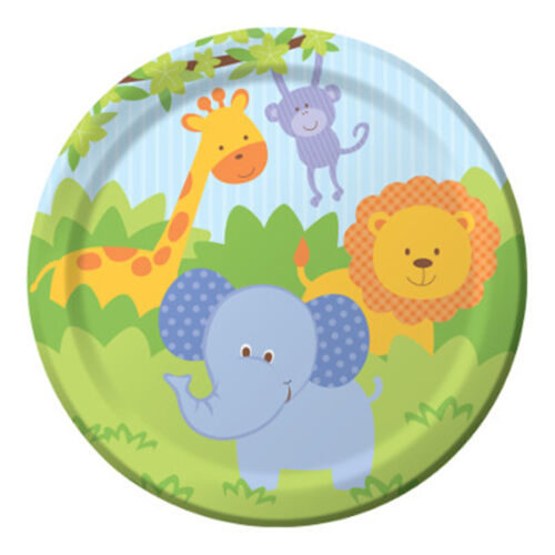 FOREST FRIENDS Birthday Party Range Tableware /& Decorations {Creative}