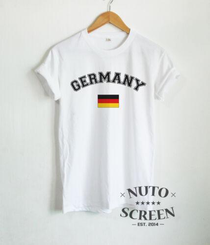 Germany Shirt Germany Football Team Deutsche Flag Mens T-Shirt Top National Tee