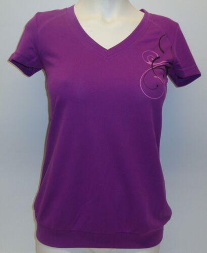 Shirt Fitnessoberteil Topcool lila S M L XL NEU Damen Fitness Shirt Sport T