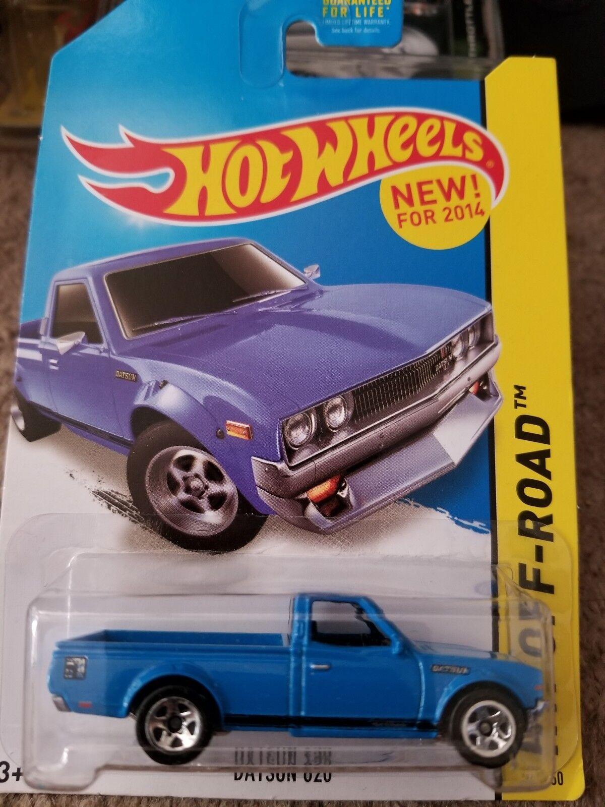 Hot wheels kmart exklusiven Blau datsun 620 und gelben datsun 620