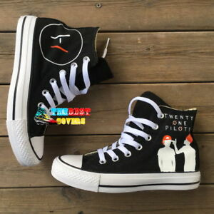 TWENTY ONE PILOTS ( 2) hand painted shoes zapatos pintados scarpe ... 08a3a4452