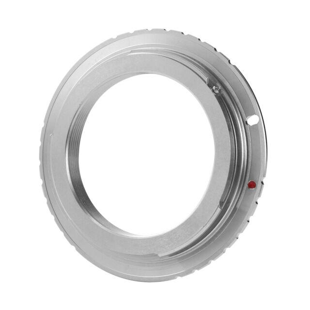 M42 Mount Lens to Canon EOS EF Adapter Ring For 1200D 750D 650D 7D 6D 5D 70D 60D