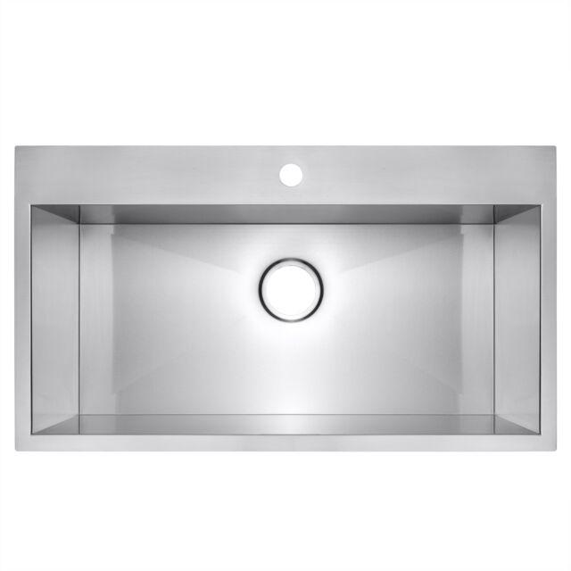 Dekor Master Single Basin Topmount Acrylic Kitchen Sink For Sale Online Ebay
