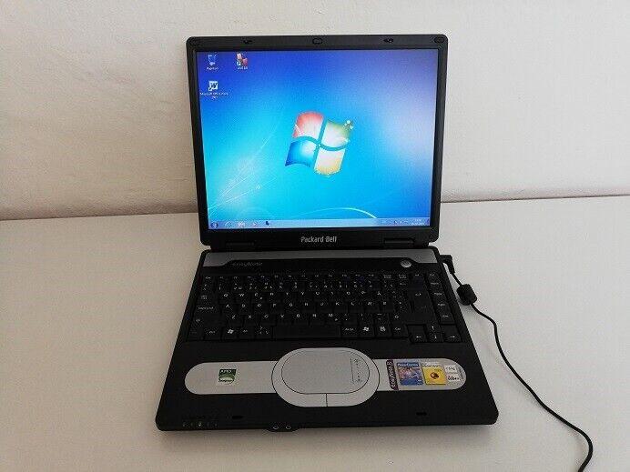 Packard Bell easy note, 1,8 GHz, 2 GB ram