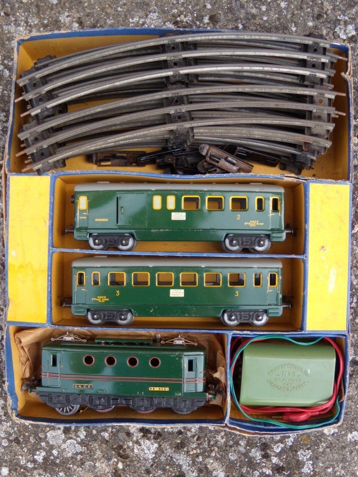 Coffret train Le Mistral Hornby 0E-BV échelle O