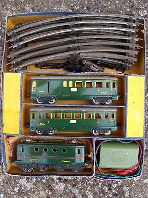 Coffret Train Le Mistral Hornby 0e-bv échelle O Una Vasta Selezione Di Colori E Disegni