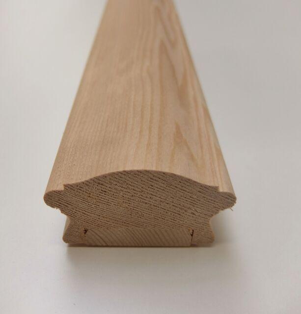Pine Stair Handrail LHR Low Profile Richard Burbidge 41mm Groove Balustrade