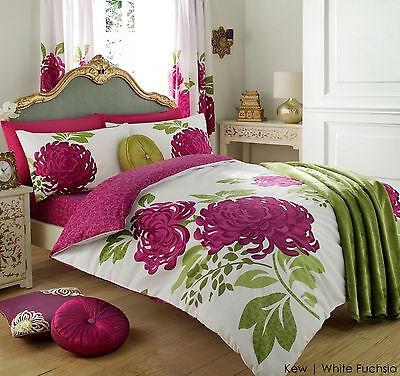 Duvet With Pillow Case Quilt Cover Beddings Set Single Double King Super Gaveno