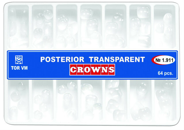 Dental Transparent Crown Posterior matrices matrix  64 pcs