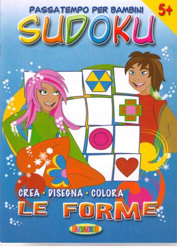 Sudoku, crea disegna colora. Le Forme - Salvadeos - Libro nuovo in offerta!