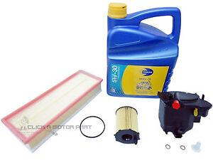 citroen c4 picasso 1 6 hdi 04 10 oil air fuel diesel. Black Bedroom Furniture Sets. Home Design Ideas