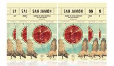 JAMBON IBÉRIQUE TRANCHÉ  6x100gr IBERICO jambon espagnol San Jamón