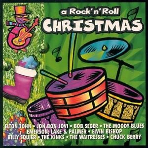 A-Rock-N-039-Roll-Christmas-by-Various-Artists-CD-Oct-1994-PSM-Disc-Only