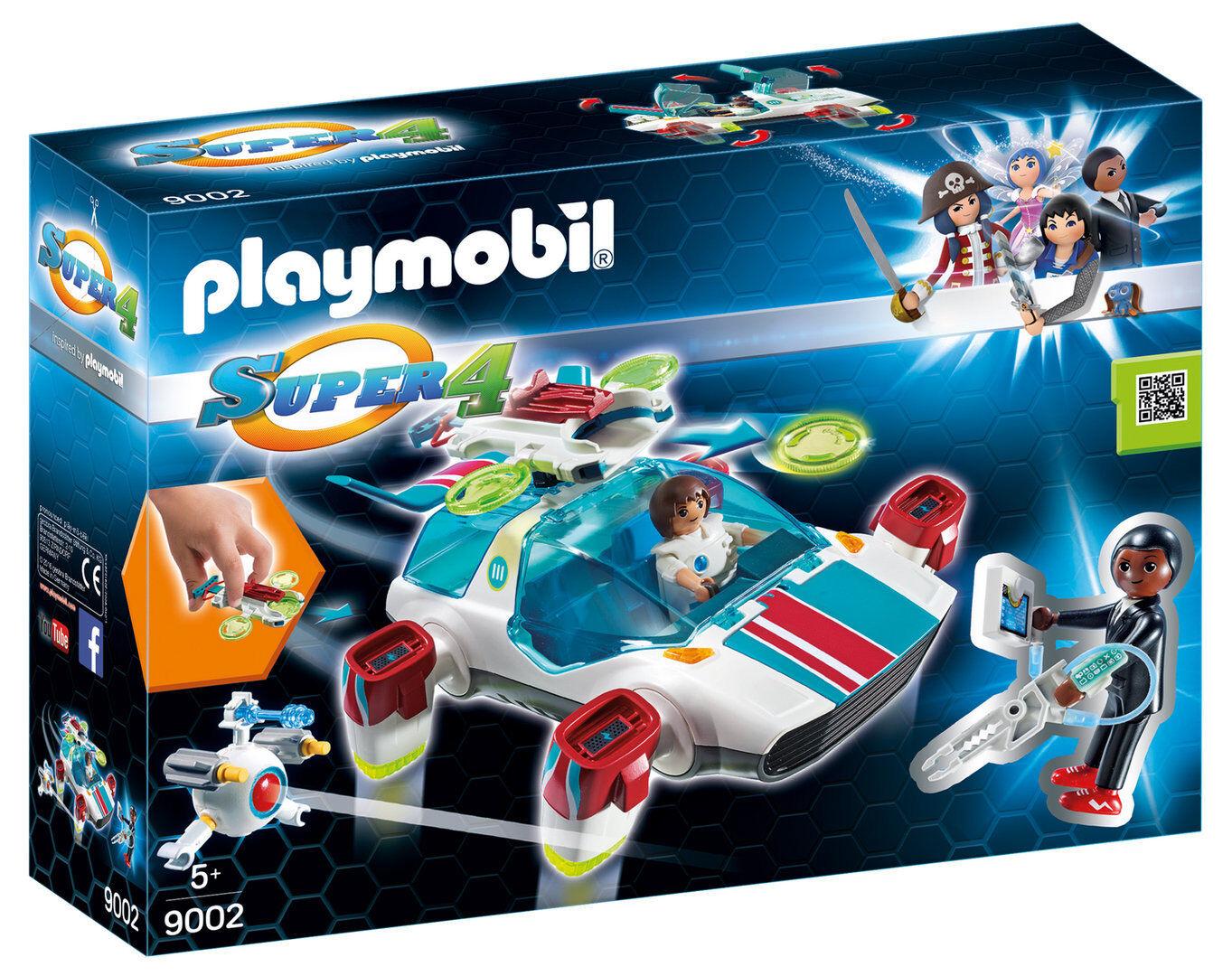 Playmobil 9002 - FulguriX FulguriX FulguriX con Agente Gene - NUEVO 22f65f
