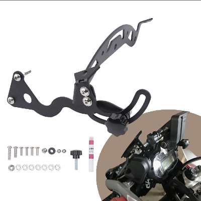 Arashi Windshield Bracket for BMW R1200GS 2013-2018 Motorcycle Accessories Adjustable Windscreen Holder R 1200 GS 1200 GS1200 1 Set Black 13 2014 2015 2016 2017 18