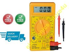 High Quality Portable Digital Multimeter DT830D With High Quality Probes - 1 No