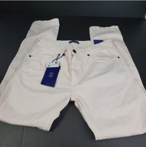 "Sara man light pink jeans pants size 31x 30.5"" slim skinny"