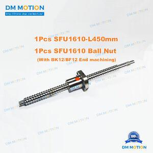 Anti-backlashed Ballscrew SFU1610-650 RM1610 Accurate Sturdy CNC Set BRAND NEW