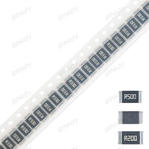 Aleación de SMD resistor de Clip 1/% 2512 1//2//3W 0.1 0.07 0.05Ω Ohm-completo rango de valores