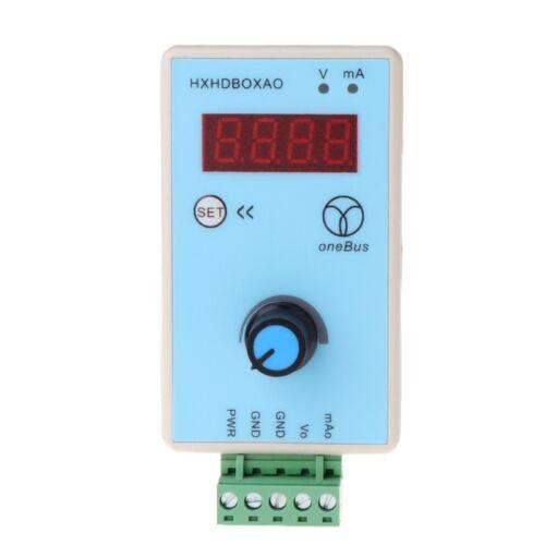 Handheld Current Voltage Signal Generator Analog Simulator Output 0-10V 0-20mA