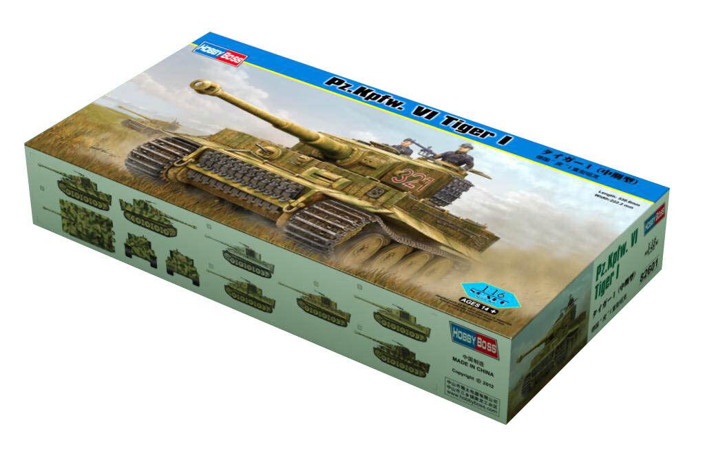 Hobby Boss 3482601 3482601 3482601 Pz.Kpfw. VI Tiger 1 1 16 Panzer Modell Bausatz Modellbau  | Hohe Sicherheit  7301d6
