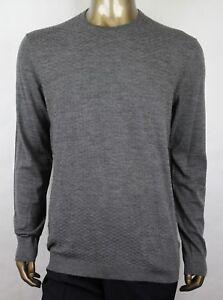 online store e9ff2 68359 Dettagli su Gucci Uomo Grigio Lana Strass Girocollo Maglione Pullover 3XL  221752 1673