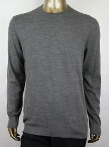 ac52d857ba0c84  1100 Gucci Men s Gray Wool Diamante Crew-neck Pullover Sweater 3XL ...