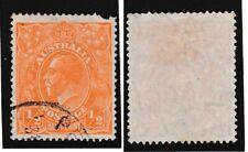 Australia 1927 GV ½d Watermark 7 Perf 14 SG85 Used