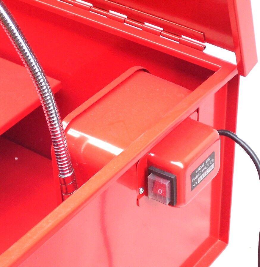 Teilewaschgerät 150L Wanne Waschgerät Teilereiniger Waschmaschine