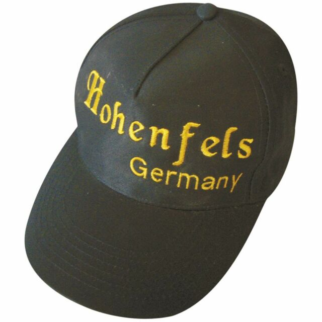 Baseballcap Cap Kappe Schirmmuetze Muetze mit Stick Hohenfels Germany 68829
