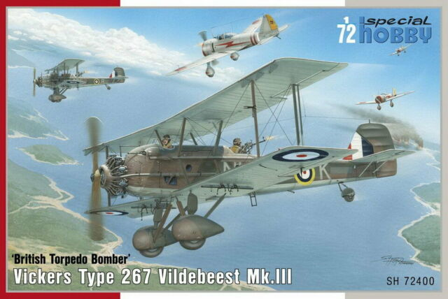 Special Hobby 1/72 WWII British Vickers Vildebeest Mk.III