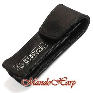 Seydel-Harmonica-Bag-904105-Leather-Beltbag-for-Diatonic-Blues-models-NEW