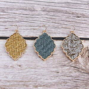 Raffia-Filigree-Quatrefoil-Floral-Moroccan-Statement-Earrings-for-Women-Jewelry