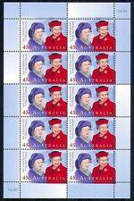 Australie 1999   QUEENS BIRTHDAY   VELLLETJE   postfris/mnh