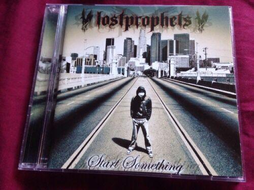 1 of 1 - LOSTPROPHETS - START SOMETHING - CD