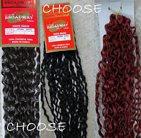 Broadway Aroma Braid 1b Black,4 Brown,118 Red Wavy Long Hair Extensions 46 L
