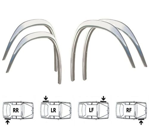 VW LT Wheel Arch Quater Panel Trims Brand New Set /'95-05 Front Rear 4 pcs CHROME