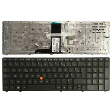 New 701455-001 Genuine HP ElitBook 8760W 8760P 8770w Backlit Keyboard