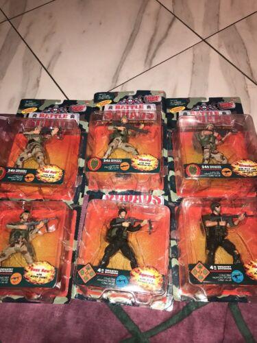 Galoob Battle Squads 4th+24th division d'infanterie énorme lot figurines buzz a Vu Plus